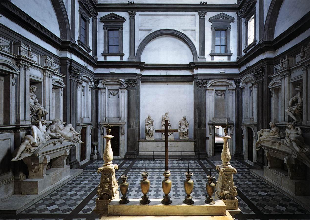 Medici-Chapel-Mechelangelo-Tour