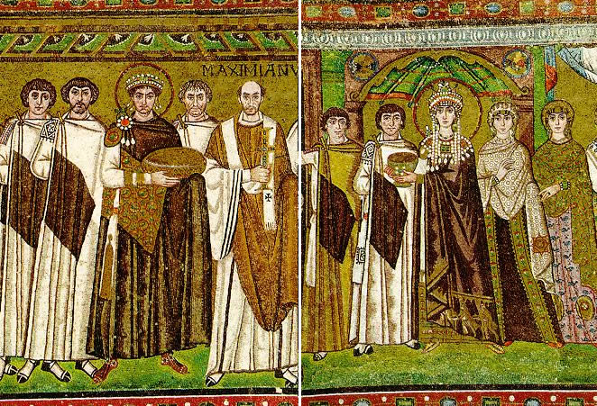 Emperor-Justinian-and-empress-Theodora